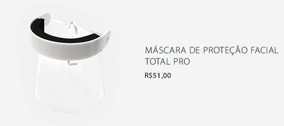 Máscara de Proteção Facial Total