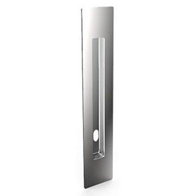Puxador Concha Embutir c/ furo 520mm em Aço Inox 304 Polido - Synter, Linha New Jaspe Slim