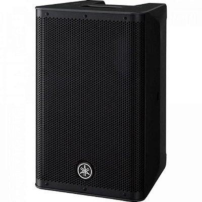 """Caixa Acústica Amplificada 8"""" de 2 Vias DXR8 MKII-BRA Preta YAMAHA"""