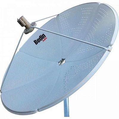 Antena Parabólica Banda C/KU BE-1,5M BEDINSAT - CX / 3