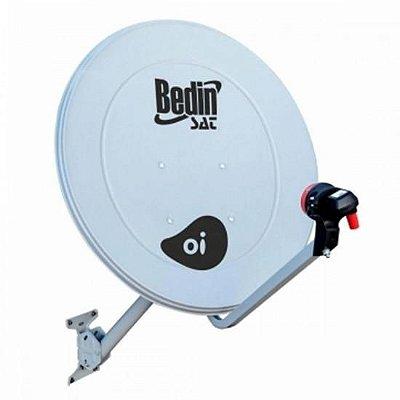Antena Parabólica Banda KU BE-60CM BEDINSAT - CX / 6