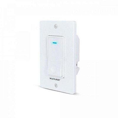 Interruptor Inteligente 1 Tecla Wi-Fi SE235 Branco MULTILASER