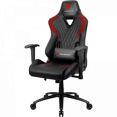 Cadeira Gamer DC3 Preta/Vermelha THUNDERX3