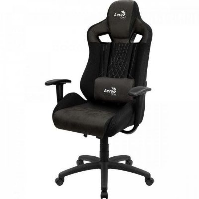 Cadeira Gamer Earl Iron Black AEROCOOL