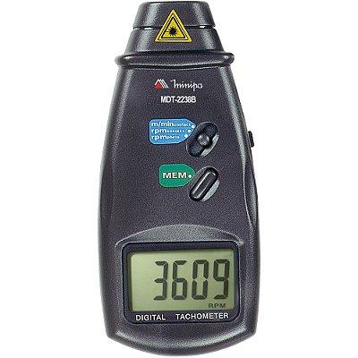 Tacômetro Digital MDT-2238A Foto/Contato MINIPA