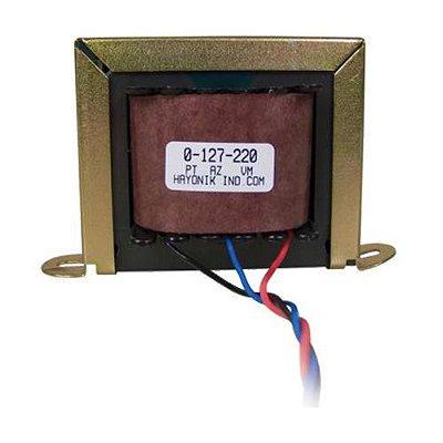 Transformador 12+12VAC 127/220VAC 940mA 12/2 HAYONIK