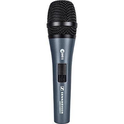 Microfone Dinâmico Super Cardióide E845-S SENNHEISER