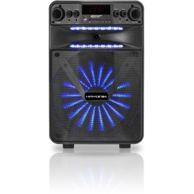 Caixa Multiuso Portátil Bluetooth MicroSD USB FM 100W GO POWER 200 HAYONIK