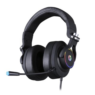 Headset Gamer 7.1 RGB USB H500GS Preto HP
