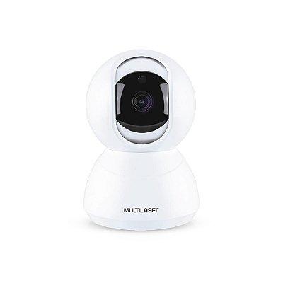 Câmera Robô Inteligente Full HD Wi-Fi SE221 Branca MULTILASER