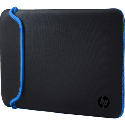 "Sleeve para Notebook 14"" Neoprene Preto/Azul HP"