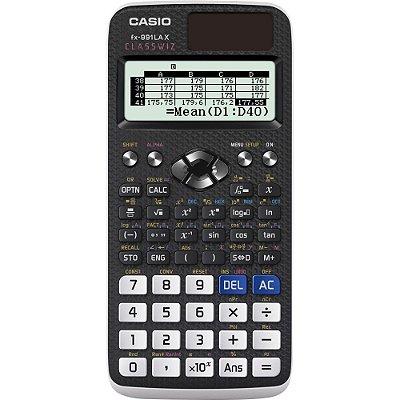 Calculadora Científica 552 Funções FX-991LAX Preta CASIO