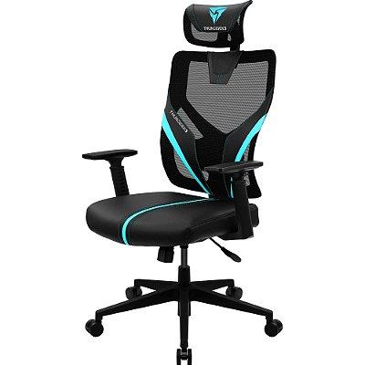 Cadeira Ergonomic Yama1 Preta/Cyan THUNDERX3