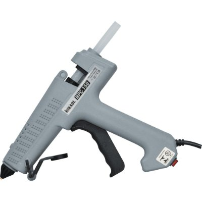 Pistola De Cola Quente Profissional 150W Bivolt HPC150 Cinza HIKARI