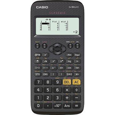 Calculadora Científica FX82LAX Preta CASIO