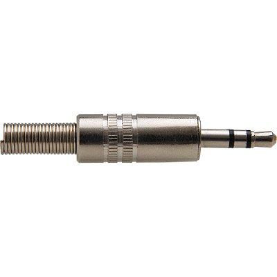 Plug P2 Estéreo de Metal Com Mola PGPD0004 Níquel STORM - PCT / 50