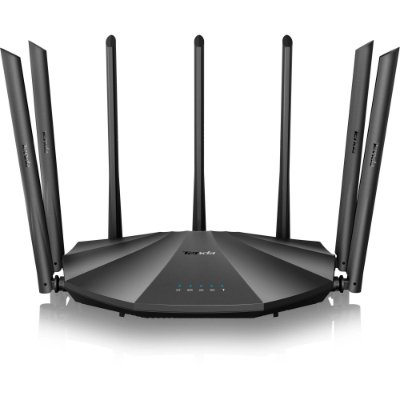 Roteador Wireless Gigabit 1200Mbps Dual Band AC23 Preto TENDA