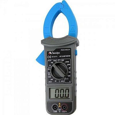Alicate Amperímetro Digital ET-3111 Azul/Preto MINIPA