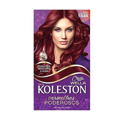 Tintura Koleston Vermelho Especial 5546 Amora