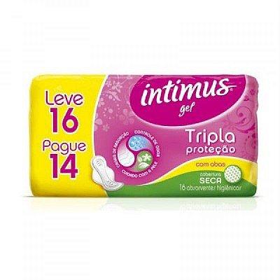 Absorvente Intimus Gel Econ Suave c/ Abas  LV16 PG14