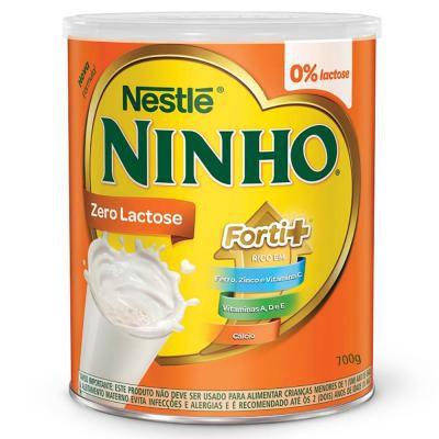 Leite Ninho Zero Lactose 700gr