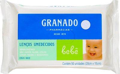 Lenços Umedecidos Bom Bebê c/50 unidades