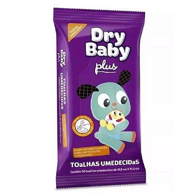 Lenços Umedecidos Dry Baby Plus c/50