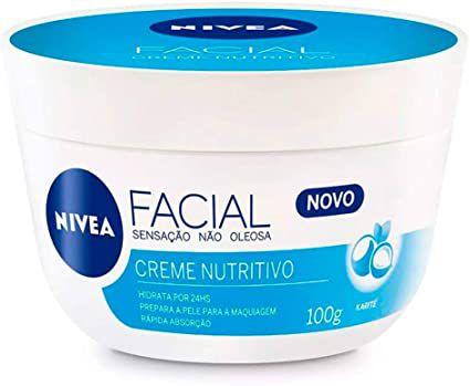 Creme Nivea Facial Nutritivo 100gr