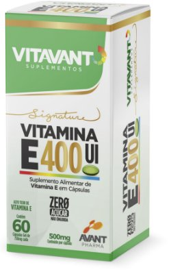 Vitamina E 400UI c/60 Cps.