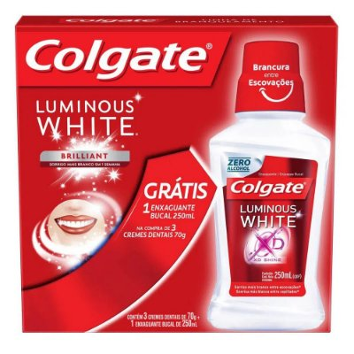 Kit Colgate Luminous White