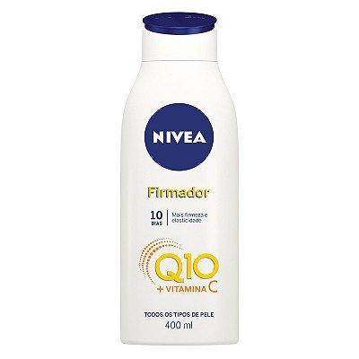 Loção Hidratante Nivea 400ml Q10 Firmador