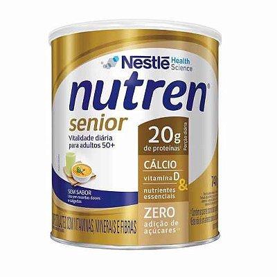 Leite Nutren Senior Sem Sabor 740gr