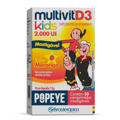 Multivit D3 Kids 2000UI c/30 cpr.