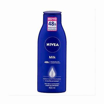 Hidratante Nivea Milk 400ml Extra seca