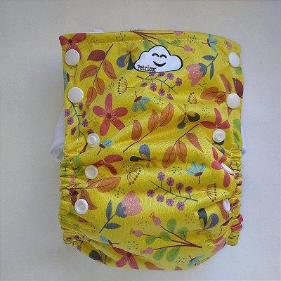 Fralda Ecológica Toddler - Flores