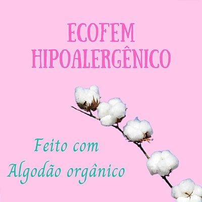 Ecofem Hipoalergênico (Interior de algodão Orgânico)