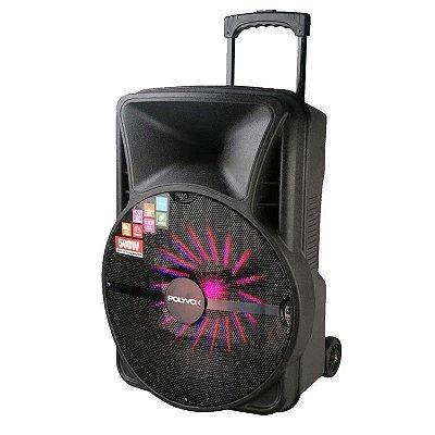 "Caixa De Som Amplificada Xc-515 Polyvox Bluetooth Usb Potência 500w Woofer 15"""