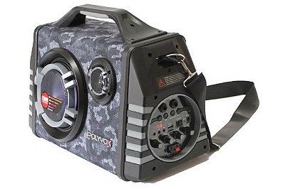 Caixa de Som Bluetooth Polyvox XM-350 200 Watts