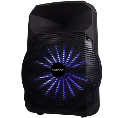 Caixa De Som Amplificada Xc-512 Polyvox Bluetooth Usb 300W