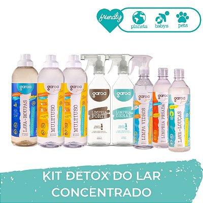 KIT GAROA DETOX DO LAR - CONCENTRADO