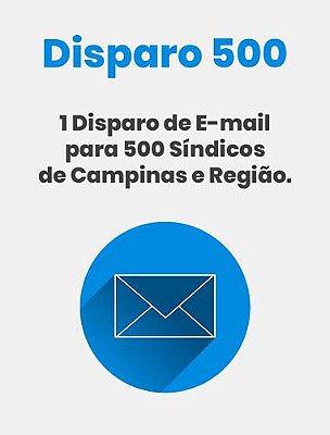 Disparo de E-mail 500