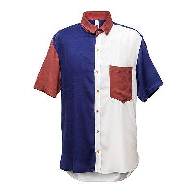 Camisa Kore Marinho + Terra Off