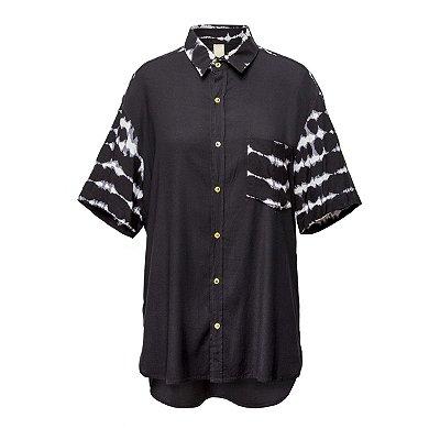 Camisa Kore Tie Dye P&B