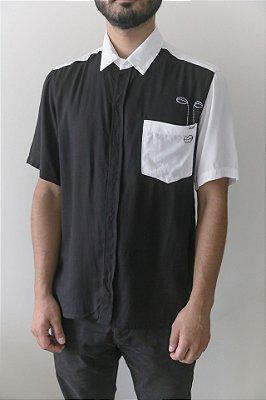 Camisa Kore Olhar Preta