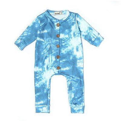 Macacão Moletinho Comfy Tie Dye