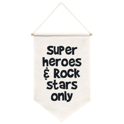 Flag Super Heroes & Rock Stars Only