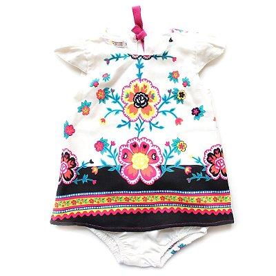 Vestido Barrado Formosura Baby