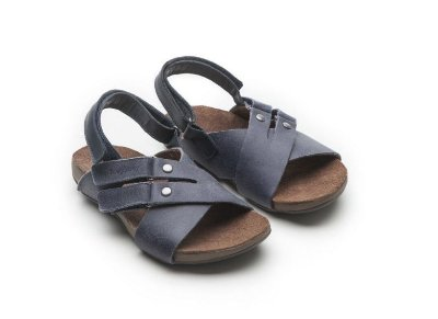 Sandália T Leash Indigo Wash