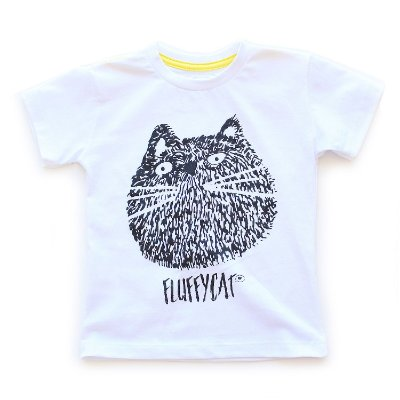 T-shirt Fluffy Cat