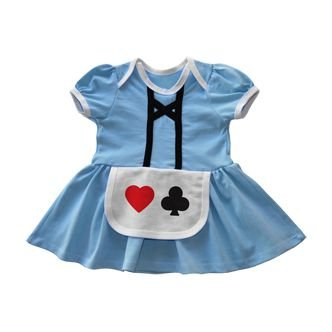Vestido Fantasia Alice no País das Maravilhas